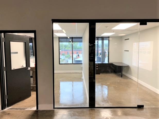 HP glass room