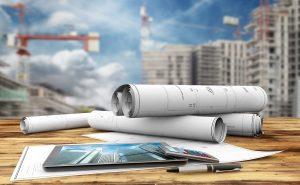construction plans background
