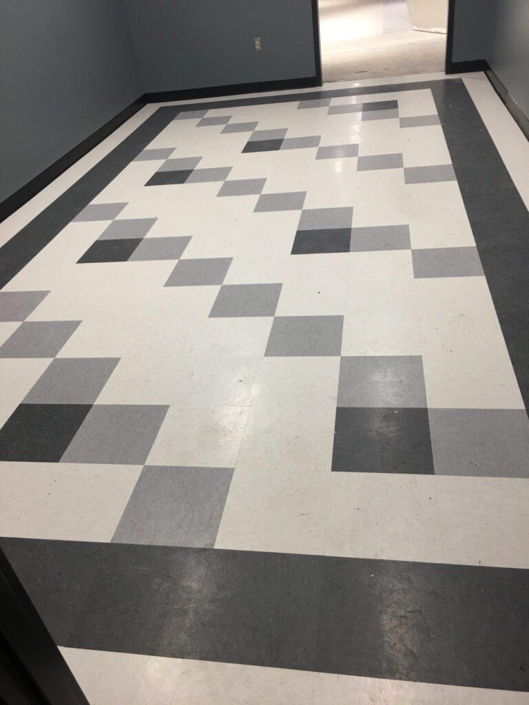 museum tile floor
